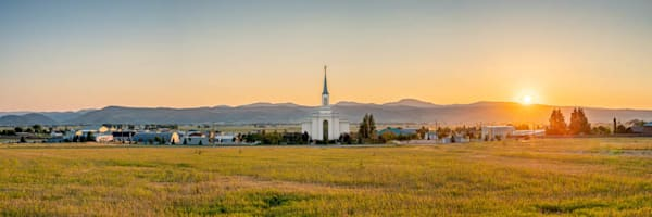 Star Valley Wyoming Temple - Star of All Valleys