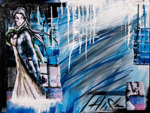 Sometimes   The Acrylic Remix Art | Angel Trip Studio