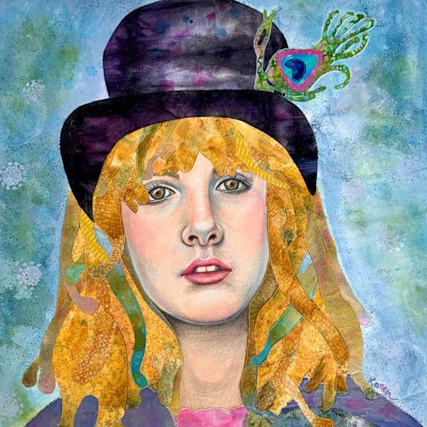 Stevie Nicks, Gypsy That Remains Art   Karen Payton Art