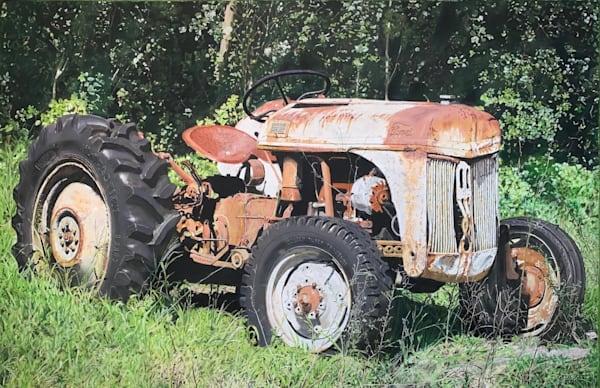 Abandoned Tractor Art | Greg Stett Art