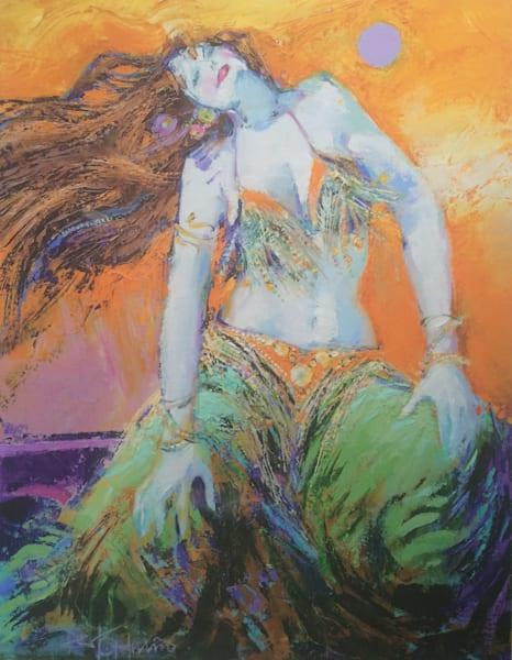 Sitting Dunya Dancer Art | robertorduno
