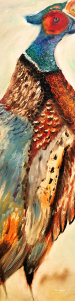 Pheasant Wall Decor by Marie Stephens Art