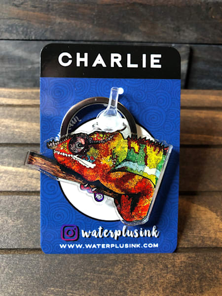 Charlie Keychain | Water+Ink Studios