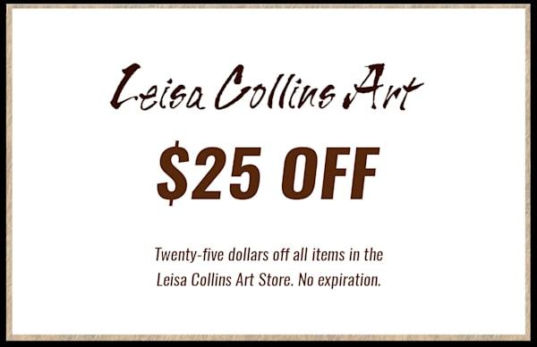 $25 Gift Card | Leisa Collins Art