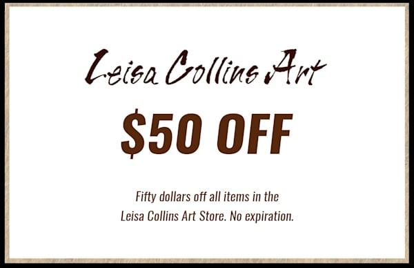 $50 Gift Card | Leisa Collins Art