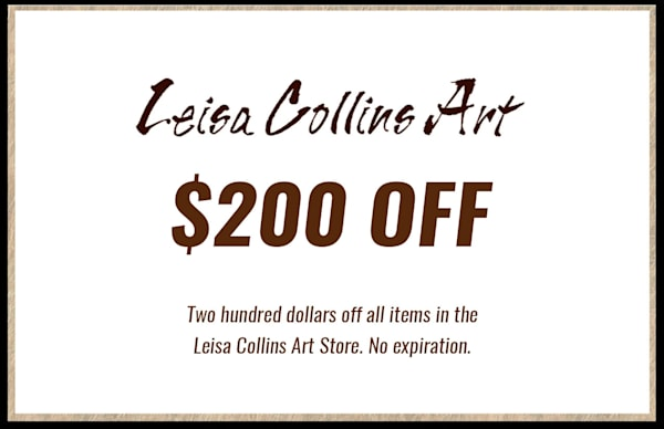 $200 Gift Card | Leisa Collins Art