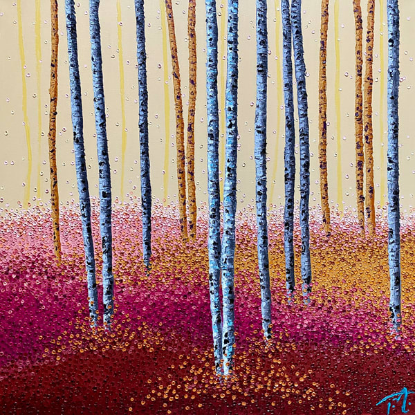 Bubblegum Forest Art | Tessa Nicole Art