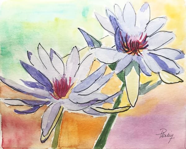 Scent of Water Lilies (original)   Mary Planding