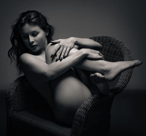 Odette Wicker Chair 2 Photography Art | Dan Katz, Inc.