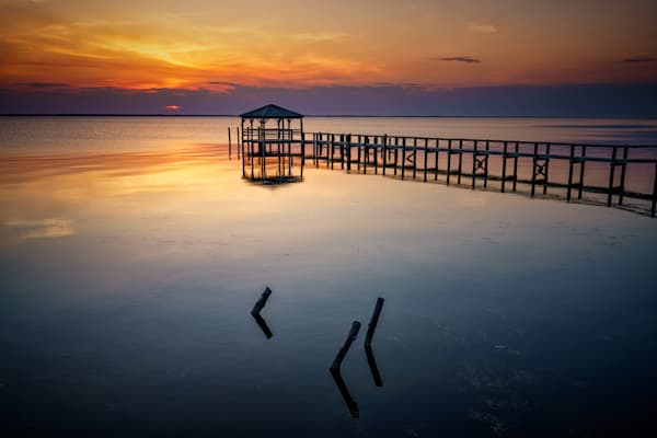 Currituck Sound at Sunset | Shop Photography by Rick Berk