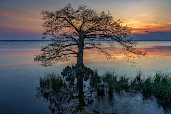 Dusk on Currituck Sound | Shop Photography by Rick Berk