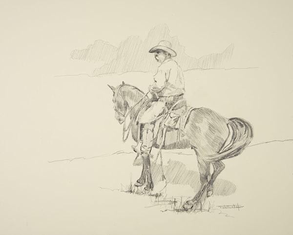 The Hunt   Drawing Art | Raymond Wattenhofer