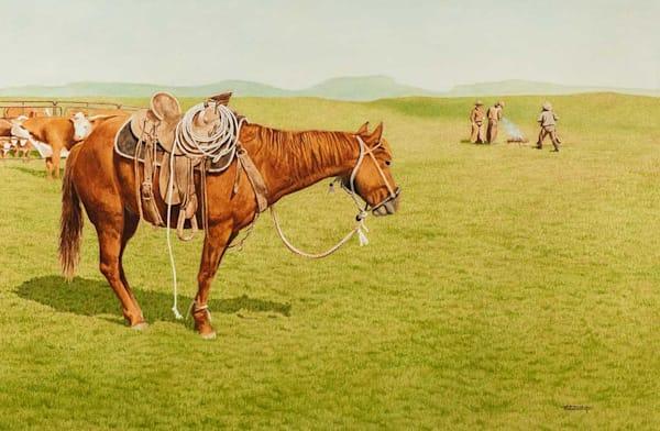 After The Sort   Watercolor Art   Raymond Wattenhofer