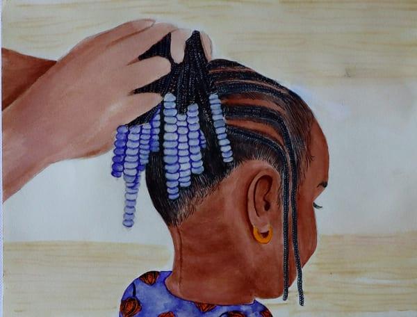 Mama Braids #2 Art   InspiringLee