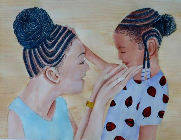 Mama Braids #3 Art   InspiringLee