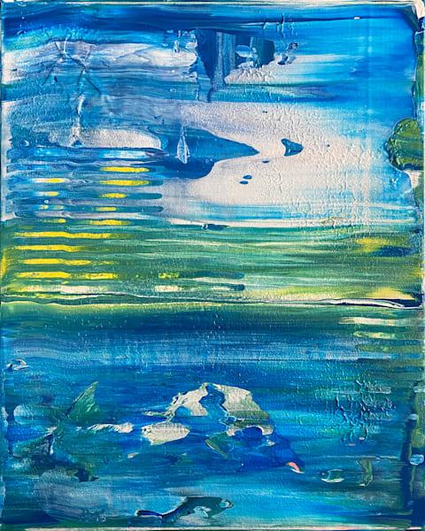 Beauty Marks abstract acrylic painting