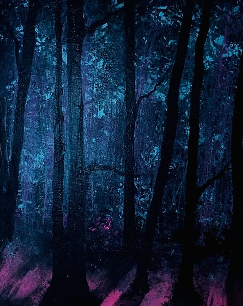 Deep In The Dusky Woods Art | House of Fey Art