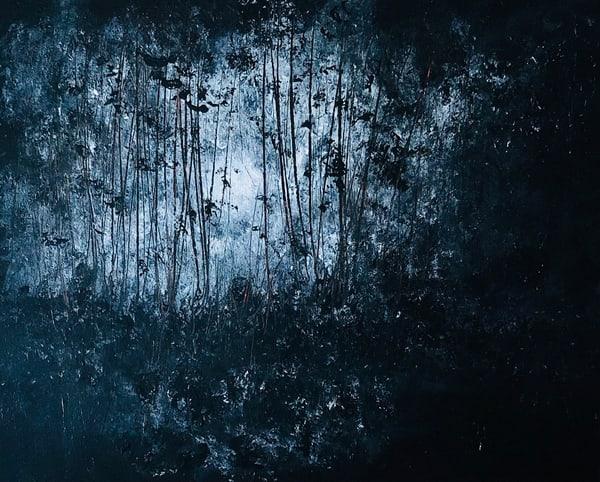 Moonlight Through Canopy Art | House of Fey Art