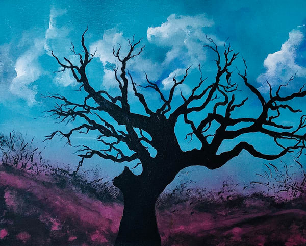 The Old Twisted Tree Art | House of Fey Art
