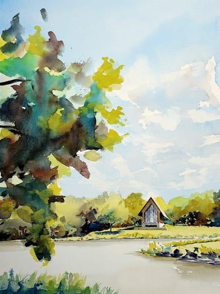 Kc Powell Gardens 2 Chapel Art | Steven Dragan Fine Art