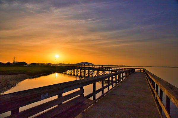 Walkway To The Sun Photography Art   Willard R Smith Photography