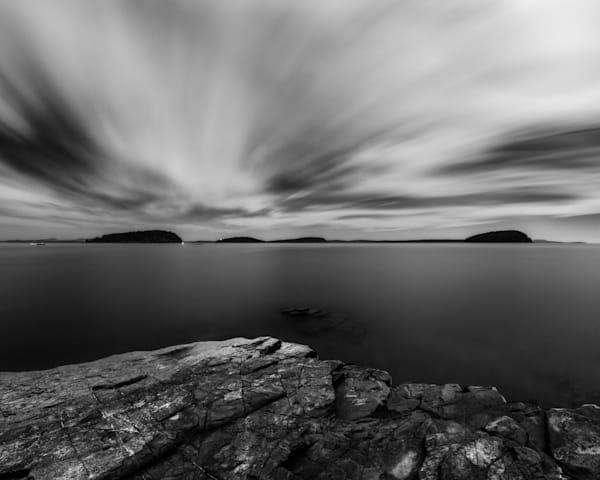 Midnight In Bar Harbor Photography Art   Silver Sun Photography