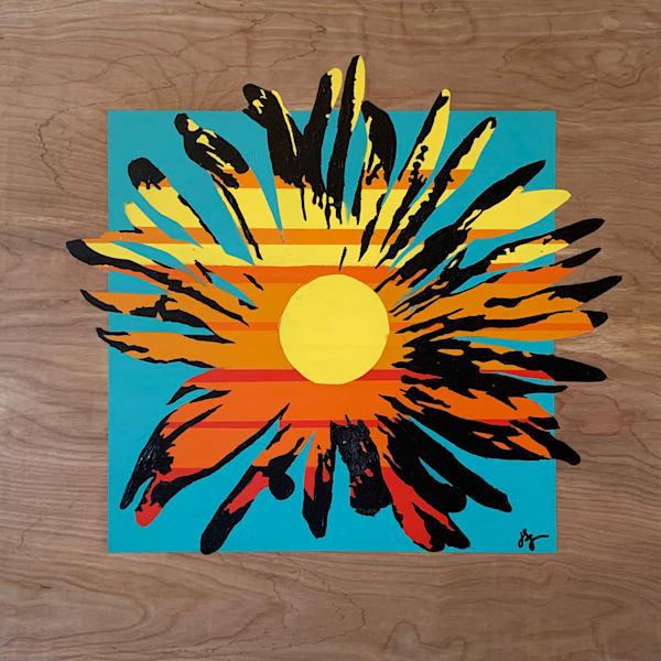 Sunny Daisy #1 Art | Jon Savage Contemporary Art