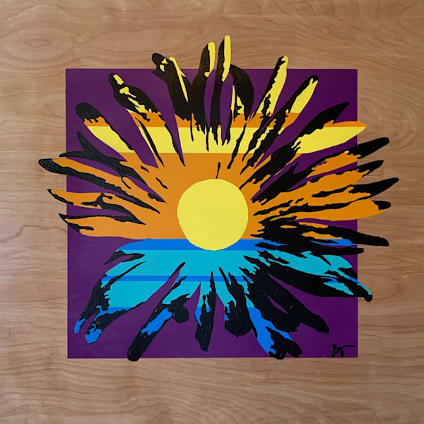 Sunny Daisy #3 Art | Jon Savage Contemporary Art