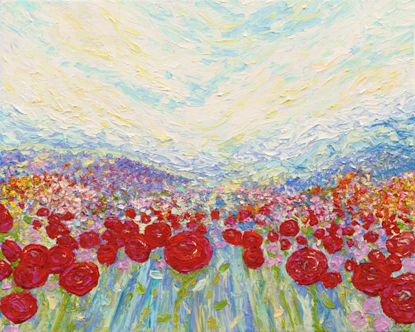 Flower Power  • Original Art | Kate Wilson Fine Art