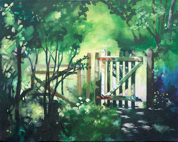 country scene landscape painting