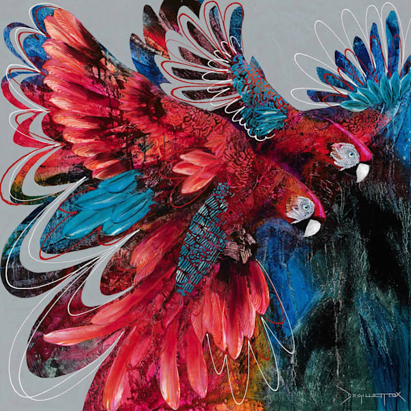 Ruby Macaws
