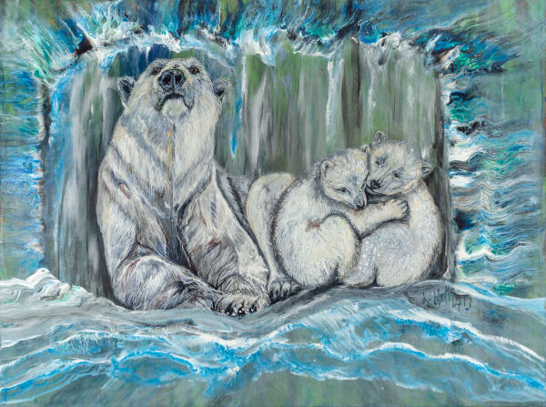 Polar Bears  Art | lisaabbott