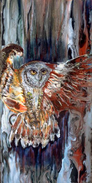 Phoenix Owl Art | lisaabbott