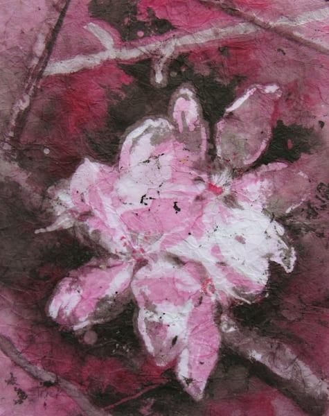 Crabapple Blossoms Monochrome Art | Strickly Art
