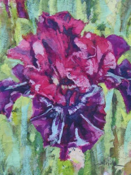 Purple Iris Art | Strickly Art
