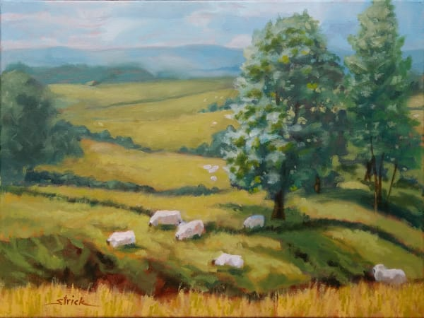Sheep May Safely Graze Art | Strickly Art