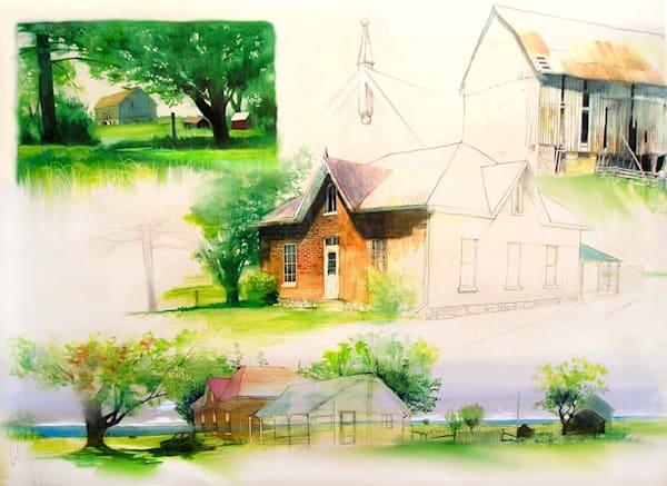 Sketchy Farmhouse Art | MANTHA DESIGN