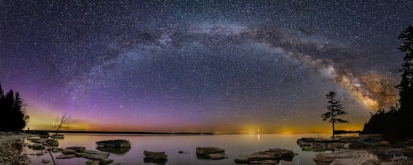 The Milky Way at Toft Point