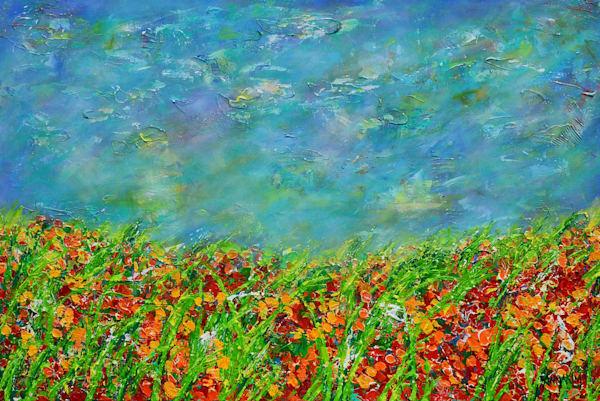 California Flower Art – Original Paintings – Fine Art Prints on Canvas, Paper, Metal & More