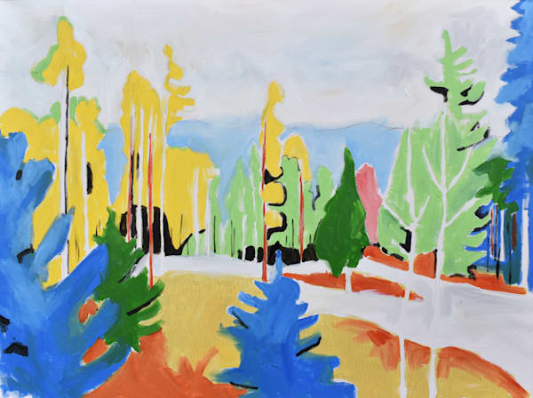 Evergreen Colorado Art | eddie hamilton art