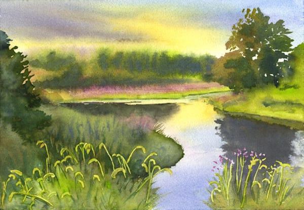 Palmer River 1 Art | Machalarts Watercolor Studio