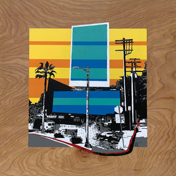 Sunset Boulevard,  Original Art | Jon Savage Contemporary Art
