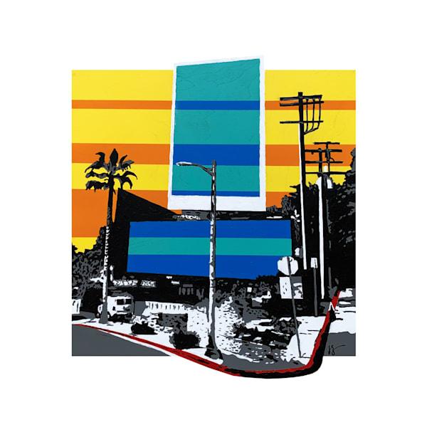 Sunset Boulevard, Print Art | Jon Savage Contemporary Art