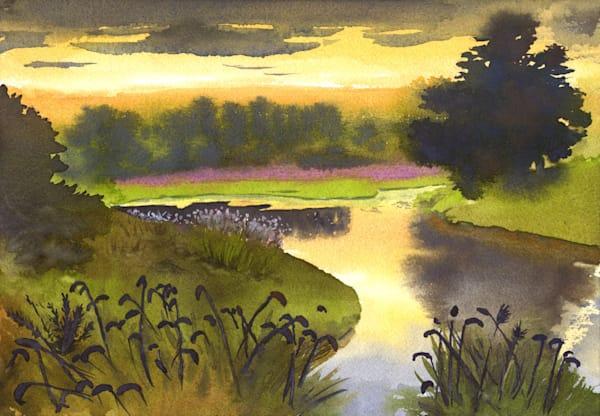 Palmer River 2 Art | Machalarts Watercolor Studio