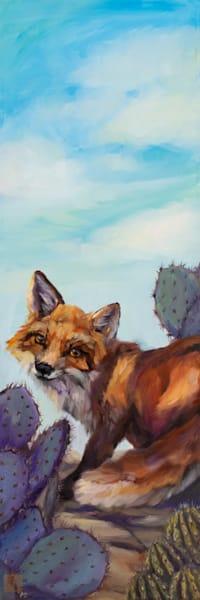 Braer Fox Art | Ans Taylor Art