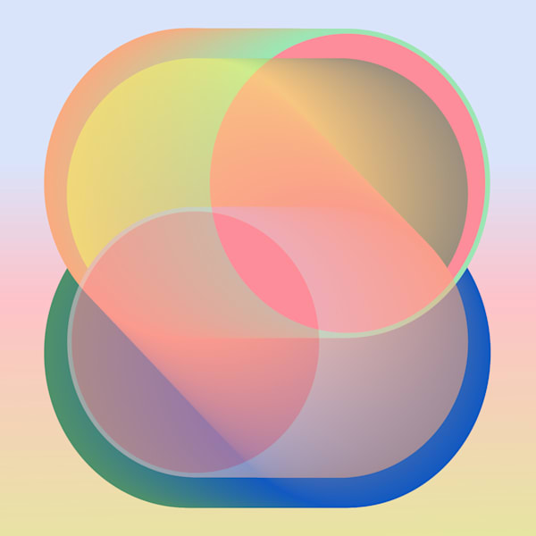 Caroline Geys | Module | Where they meet | minimalism | gradient
