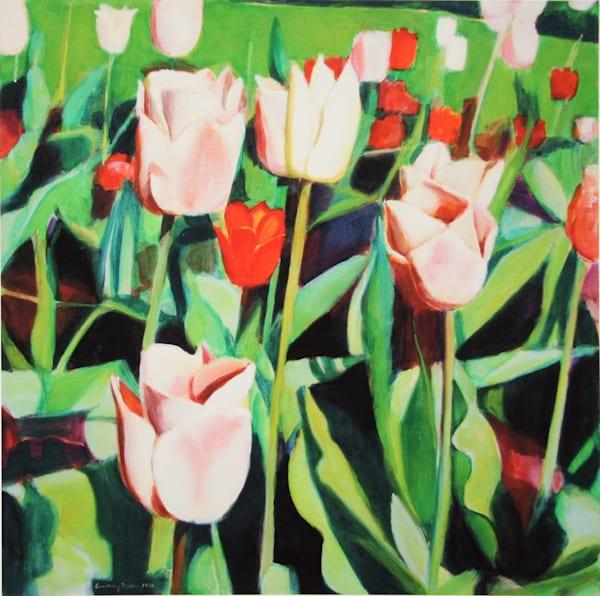 Tulips Art | Courtney Miller Bellairs Artist