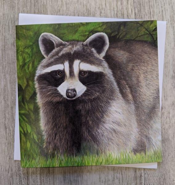 Bandit Card | Lori Vogel Studio