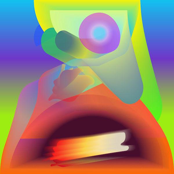 Caroline Geys   Updated World   Digital Art   Module   Red
