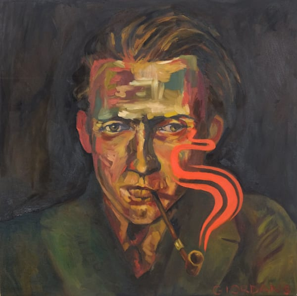 Man With Pipe Art | Giordano